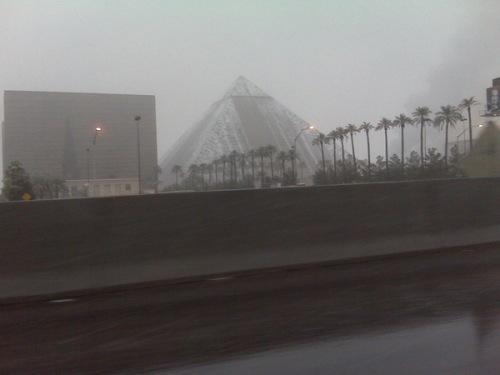 Snow on Luxor