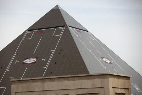 Luxor's Newest Building Wrap