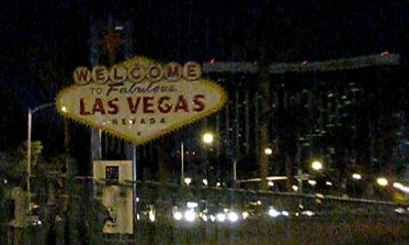 Las Vegas Sign During Earth Hour